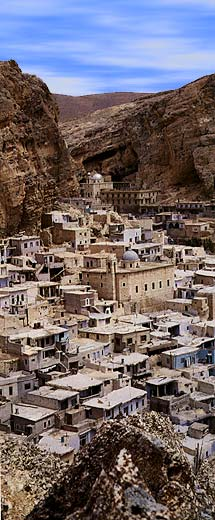 Maaloula General View